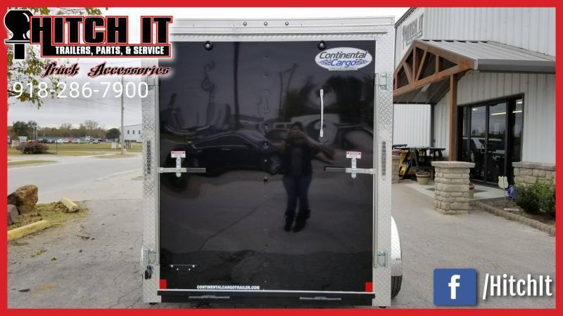 **COMING SOON**  2021 Continental Cargo 6 X 10 + V-nose  Enclosed Cargo Trailer