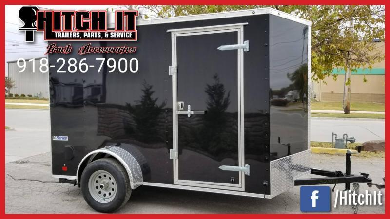 !!!COMING SOON!!! 2021 Continental Cargo 6 X 10 + V-nose  Enclosed Cargo Trailer