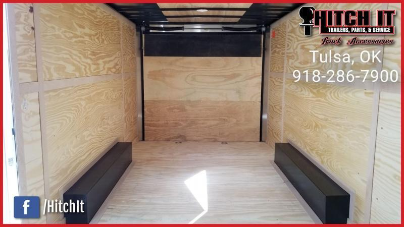 !!!COMING SOON!!! 2021 Continental Cargo 8.5 x 16 Plus V-nose Car Hauler Enclosed Trailer