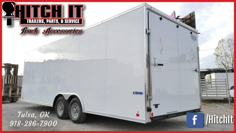 !!!COMING SOON!!! 2021 Continental Cargo 8.5 X 24 Enclosed Cargo Trailer Tandem 5200#