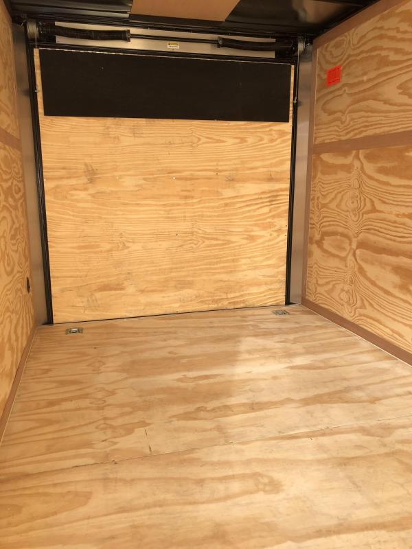 2021 Continental Cargo 6 X 10 + v-nose  Enclosed Cargo Trailer