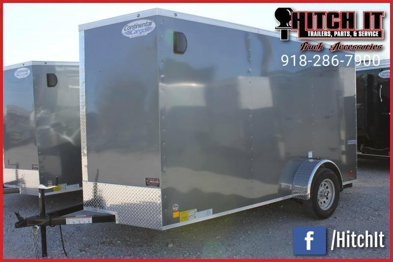2021 Continental Cargo 6 X 10 + v-nose  Enclosed Cargo Trailer