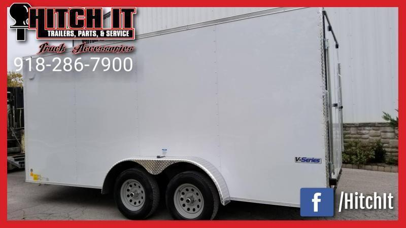 **COMING SOON**  2021 Continental Cargo 7 x 18 + v-nose  Enclosed Cargo Trailer