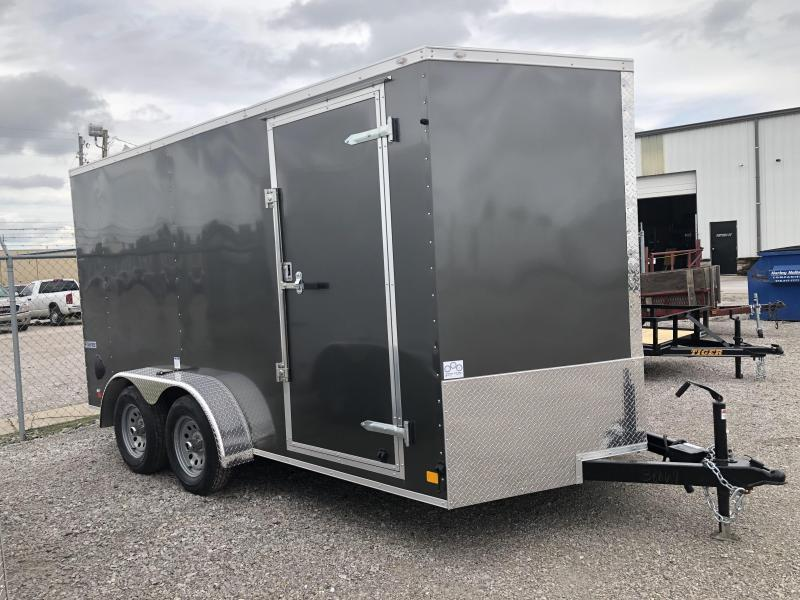 !!!COMING SOONI!!! 2021 Continental Cargo 7 x 14 + v-nose  Enclosed Cargo Trailer
