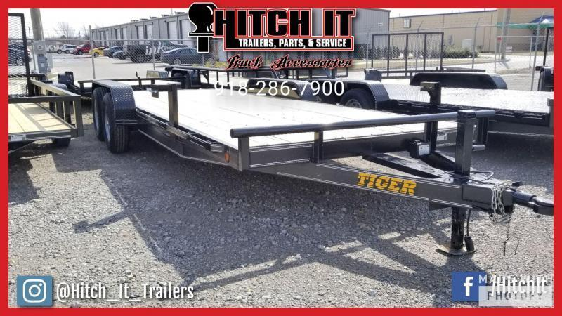 2020 TIGER HD EQUIPMENT HAULER 83 x 20 Wood Floor Trailer 5200#