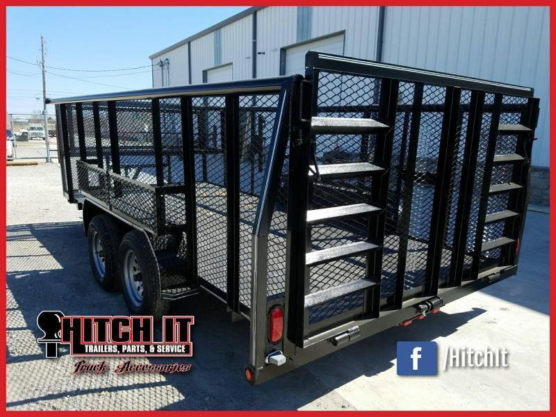 **COMING SOON**  2020 Tiger 83 x 16 Landscape Trailer w/ HD TRACTOR Gate