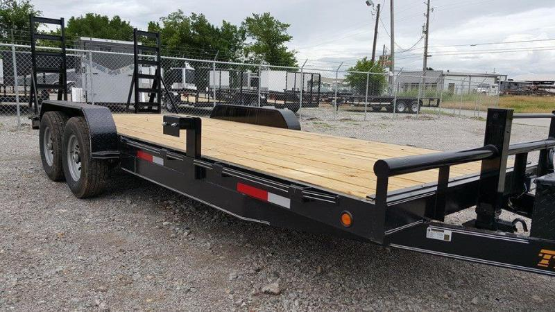 2020 Tiger 83 x 22 Car Hauler Trailer 7k axles brakes toolbox