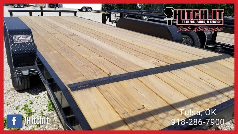 !!!COMING SOON!!! 2020 TIGER HD EQUIPMENT HAULER 83 x 20 Wood Floor Trailer 5200#
