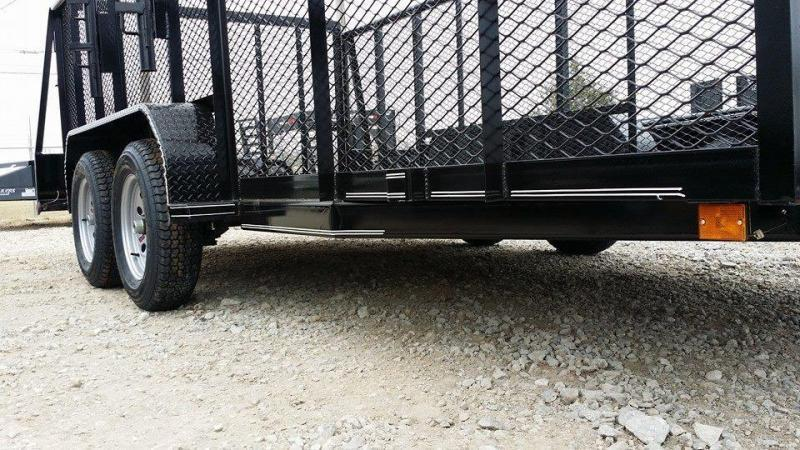**COMING SOON**  2020 Tiger 83 x 16 Landscape Trailer 5200# Axles w/ HD TRACTOR Gate