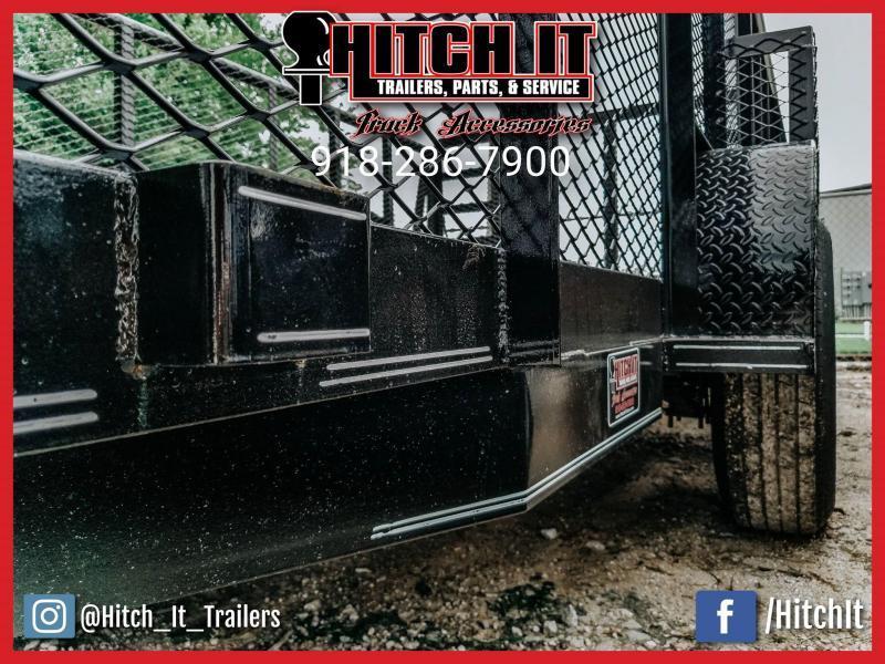 2021 Tiger 83 x 16 Landscape Trailer 3500# Axles w/ HD Tractor Gate