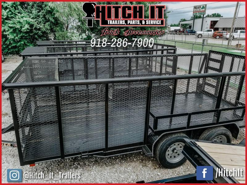 !!!COMING SOON!!! 2020 Tiger 83 x 16 Landscape Trailer 5200# Axles w/ HD TRACTOR Gate