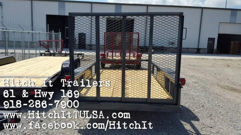 !!!COMING SOON!!! 2020 Tiger Charcoal 5 x 10 Utility Trailer w ramp full wrap tongue