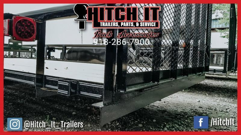 !!!COMING SOON!!! 2020 Tiger 83 x 16 Pipetop Utility Trailer w/ Ramp Gate Tandem 3500#