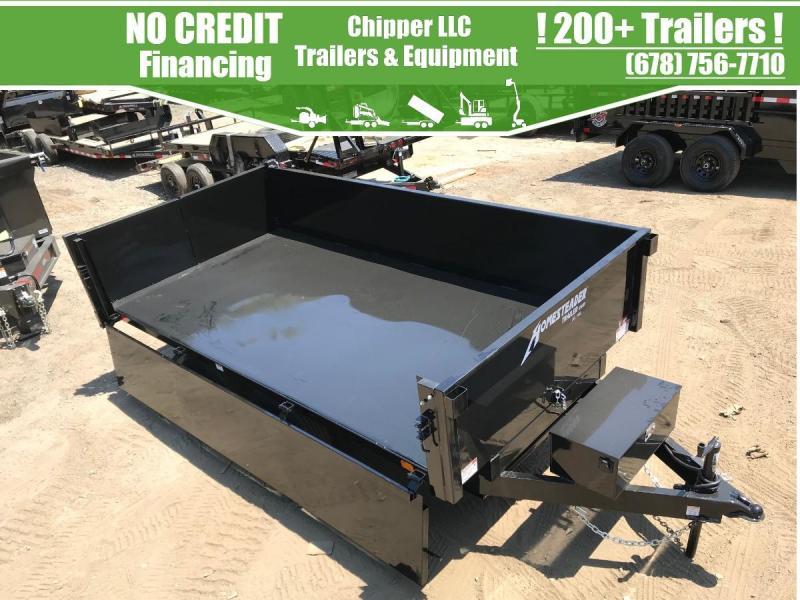2021 Homesteader 6x10 7K 2ft Curbside Combination Gate Dump Trailer