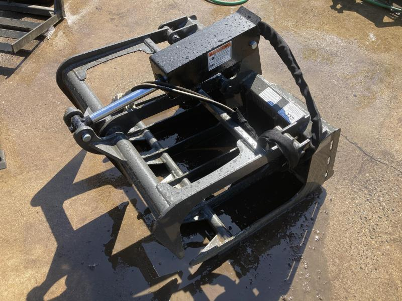 "2021 36"" Single Cylinder Root Grapple CID MTRG36 MT55/MT85 Mini Skid Steer Attachment"
