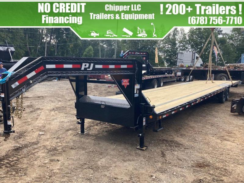 2021 PJ Trailers 8.5x40 15.6K Non CDL Hotshot Freight Flatbed Straight Deck