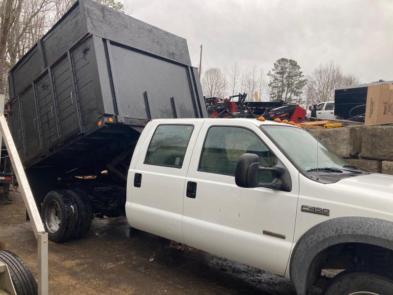2005 Ford F450 XL Crew Cab Chipper Dump Truck, 2wd, 6.0L Diesel, Automatic 114k miles
