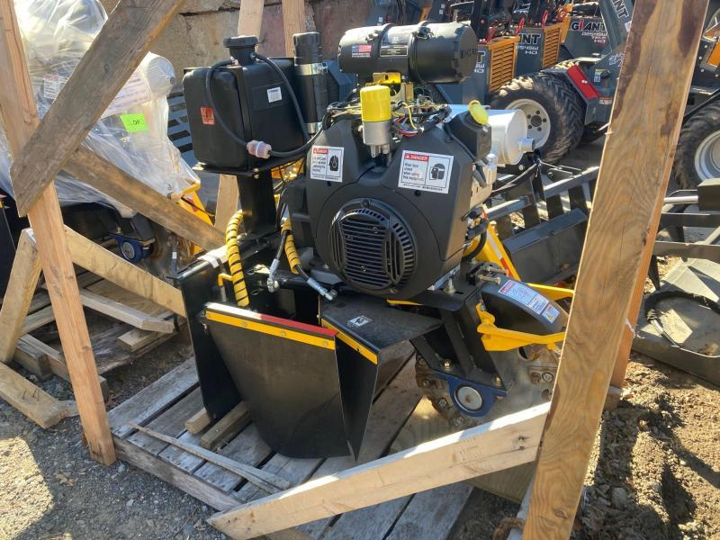 2021 Branch Manager T3800 38 Special Stump Grinder- Direct Drive 35HP Mini Skid Steer Universal Attachment