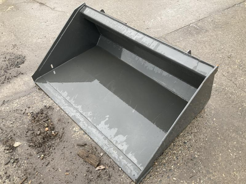 "2021 54"" Long Bottom Bucket CID DLPB54 Mini Skid Steer Universal Attachment"
