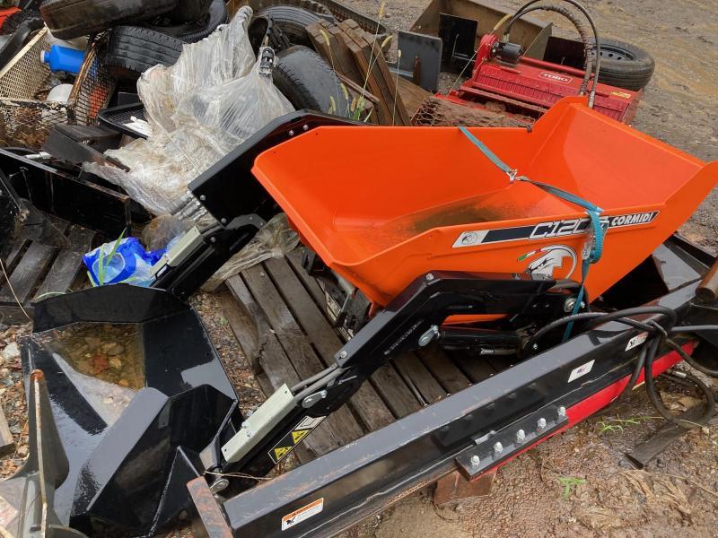 2019 Cormidi C1200 Mini Skid Steer Self Loading Dump Hopper - Free Shipping