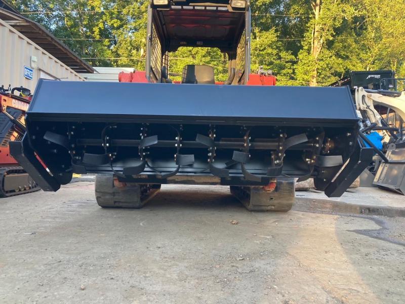 "2021 Iron Rhino 72"" direct drive heavy duty tiller IR72TILL  Skid Steer Attachment"