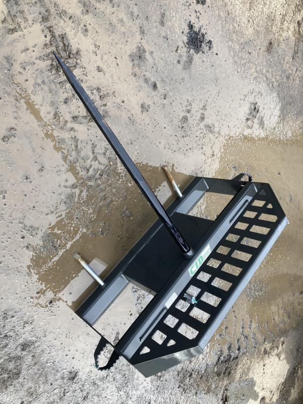 2021 High Back Hay Spear CID HBHS Skid Steer Attachment