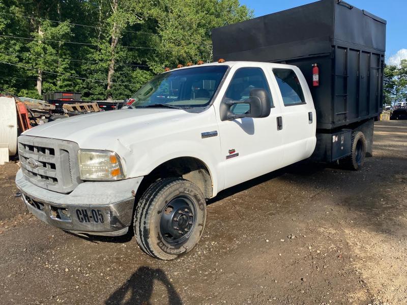 2006 Ford F350 Crew Cab 4x4 Chipper Dump Truck