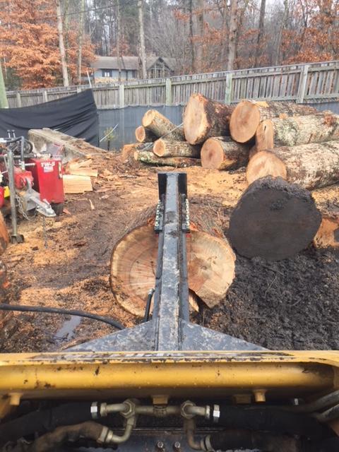 2020 Ramsplitter Skid Steer Inverted Log Splitter Skid Steer Attachment
