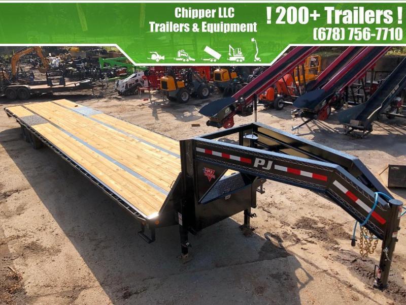 NEED VIN 2021 PJ 8.5x40 25k 40' Gooseneck Deckover Hotshot Straight Deck