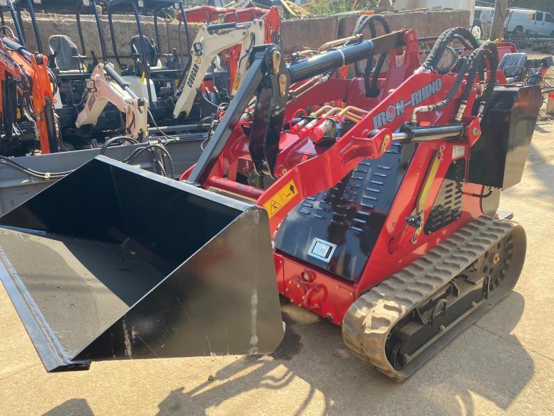 2021 Iron Rhino Diesel Mini Skid Steer IR800TD