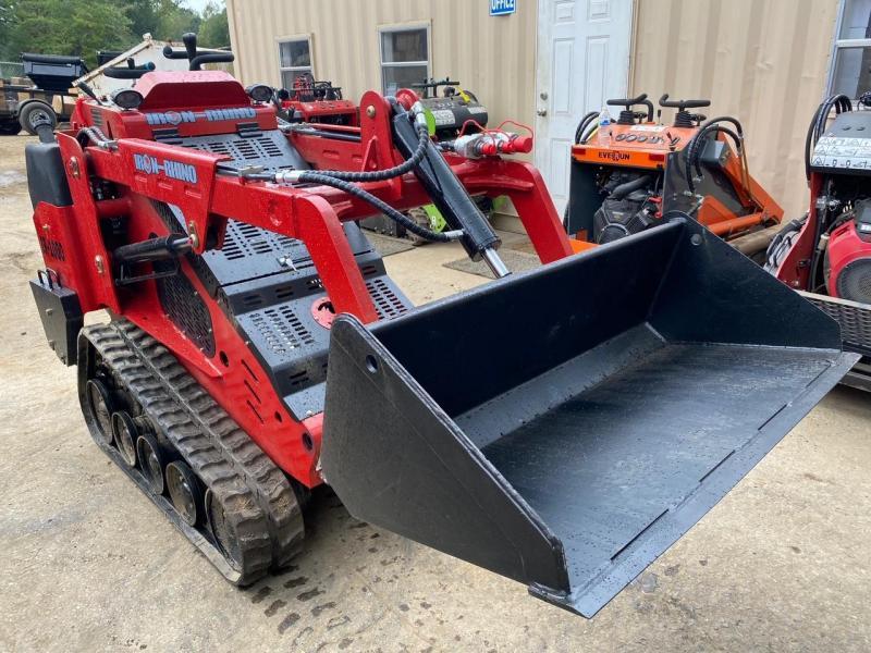 2021 Iron Rhino IR1000 Mini Skid Steer, 25HP Kubota Diesel, 1 yr Warranty