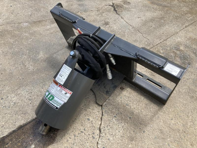 """2021 CID Heavy Duty - Skid Steer Mount for bits up to 36"""" RAD Augers Skid Steer Attachment"""