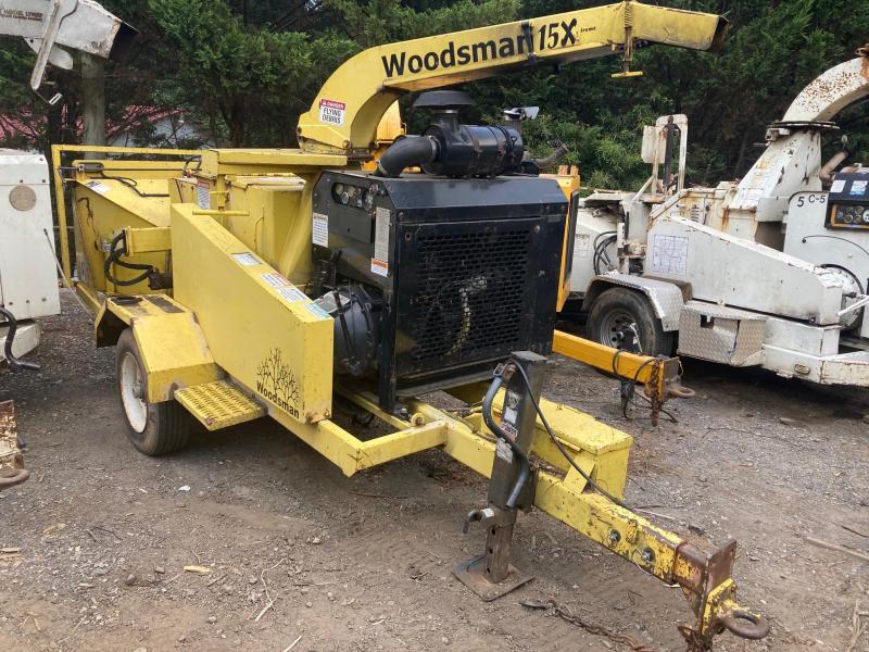 "2005 Woodsman 15x Chipper, 15"", 125hp diesel"