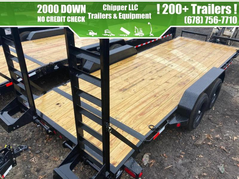 2021 Ironbull 7x20 10K Equipment Trailer Slide Out Ramps