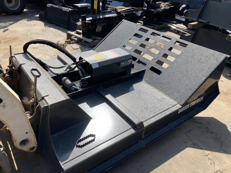 "2021 72"" CID X-Treme Brush Mower, 16-29 GPM, 7"" cutting capacity XBC162972 Brush Cutters Skid Steer Attachment"