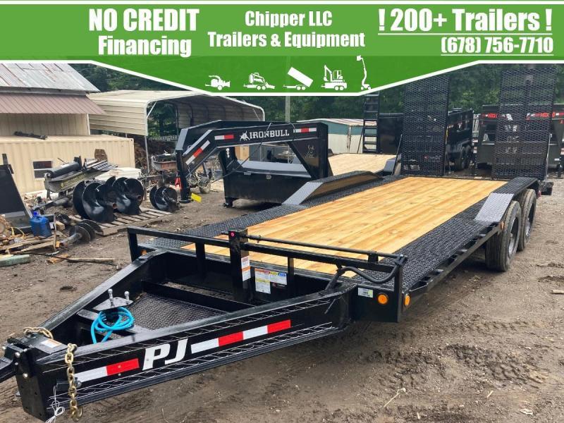 2022 PJ Trailers 8.5x20 20k 10 Ton 20000 lb HD Driveover Equipment Deckover Trailer