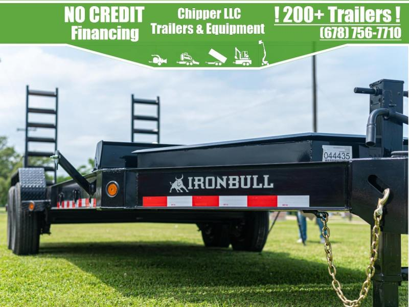 2022 Ironbull 7x22 14k 7 Ton HD I-Beam Equipment Trailer Ramps Equipment Trailer