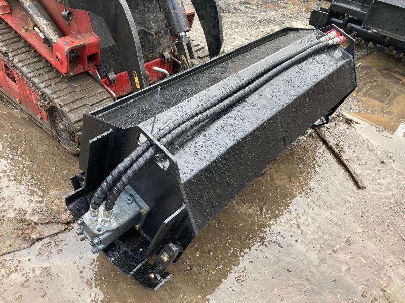 "2021 Iron Rhino 52"" direct drive Extreme Dingo Tiller DT52  Mini Skid Steer Universal Attachment"