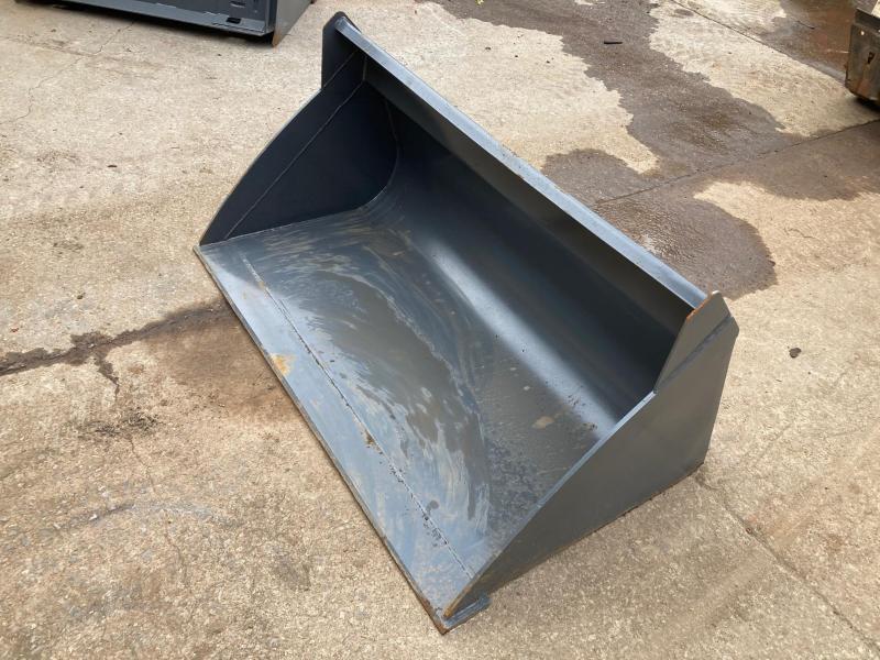 "2021 54"" High Capacity Bucket Everun ERHCB54 Skid Steer Attachment"
