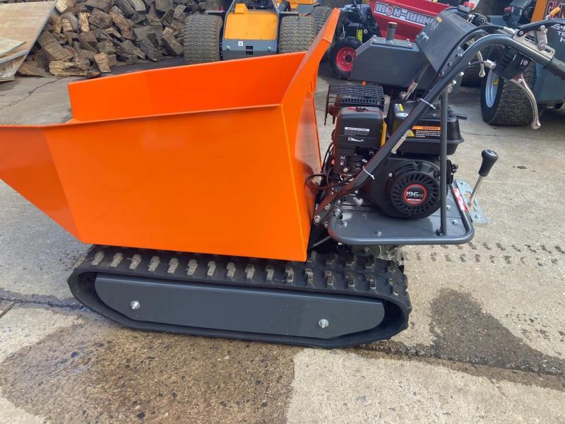 2021 1100# Track Powerbarrow Hydraulic Dump Cart, 196cc, 6.5HP