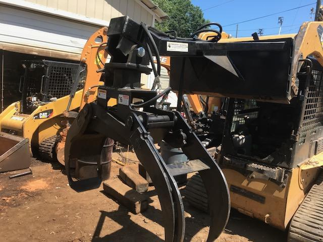 2021 Rotating Log Grapple Ramsplitter RLG Skid Steer Attachment