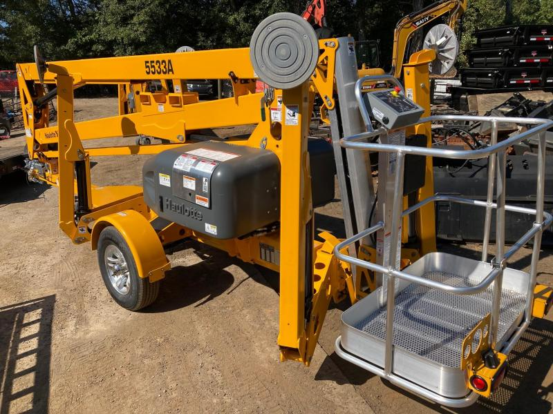 2021 Haulotte/Bil-Jax 5533A Towable Boom Lift - Electric