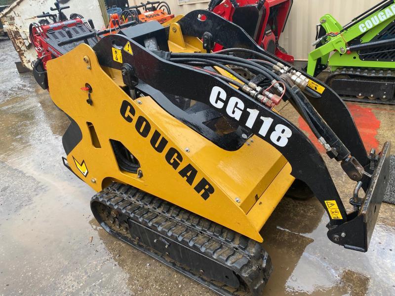 2020 Cougar CG118 Mini Skid Steer 25HP Diesel