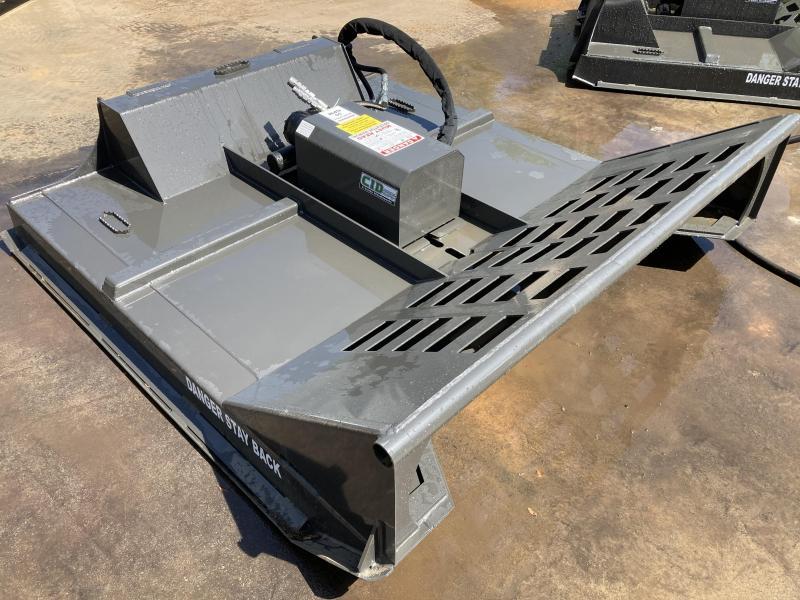 "2021 78"" CID X-Treme Brush Mower + Mulching Teeth, 20-30 GPM 6"" cutting capacity XBC78MFMT Skid Steer Attachment"