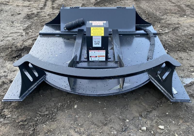 """2021 Proworks 60"""" Direct Drive Mower Skid Steer Attachment"""