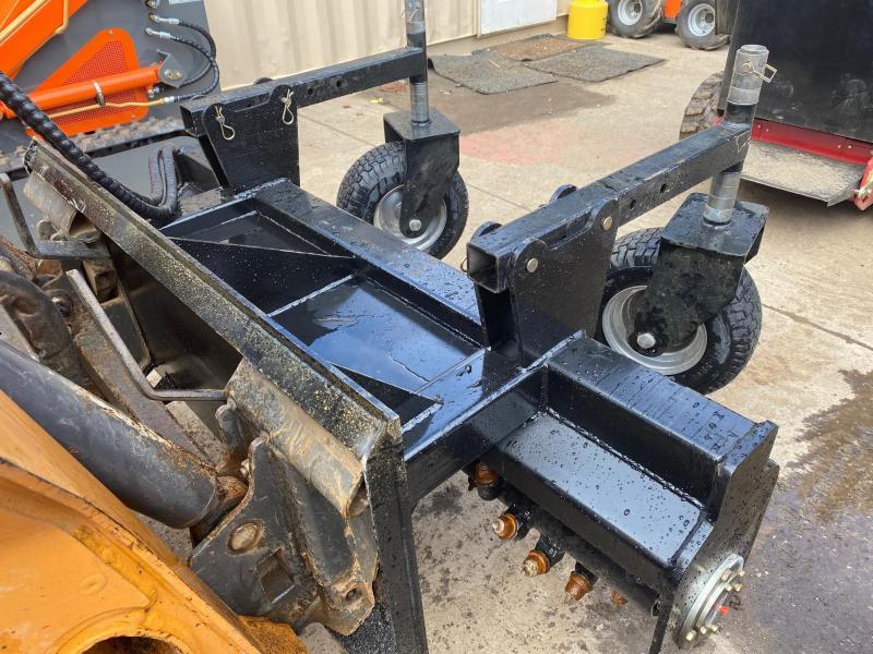 "2021 Iron Rhino 60"" Power Rake, Soil Cultivator, Harley Rake Skid Steer Attachment"