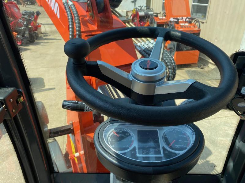 2021 Everun ER1000 Enclosed Cab Telescoping Compact Articulating Wheel Loader