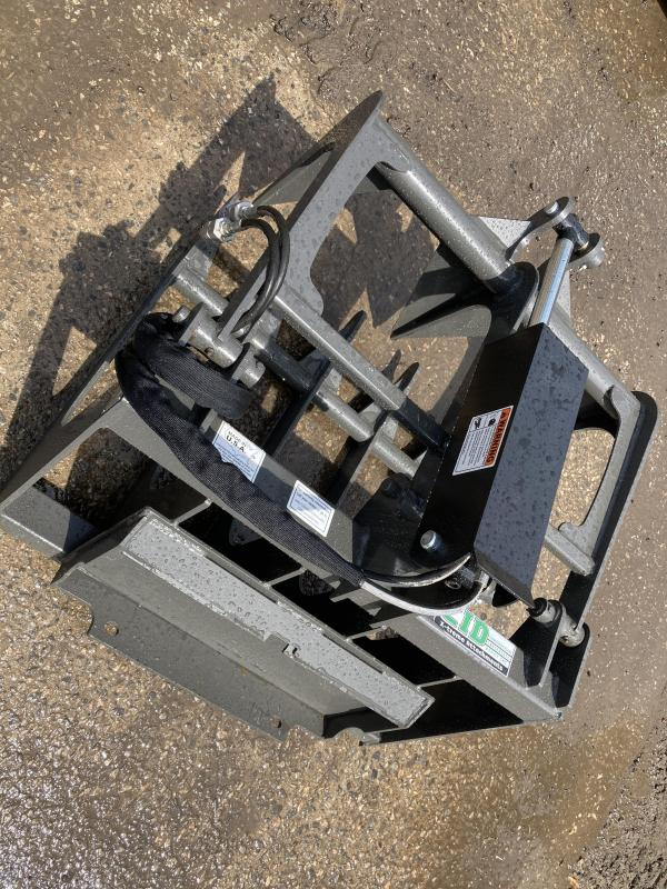 "2021 36"" Single Cylinder Root Grapple CID DRG36 Mini Skid Steer Universal Attachment"