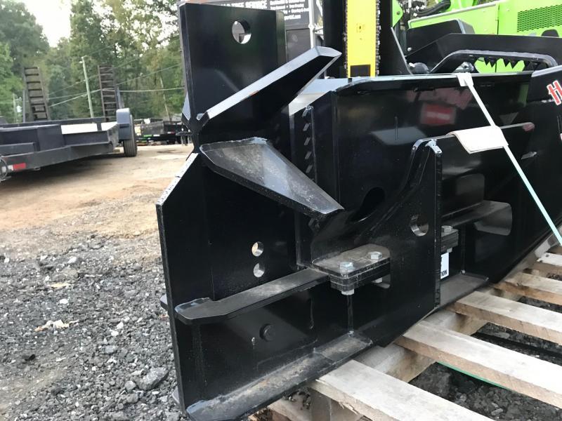 2021 Halverson Skid Steer Mounted Firewood Processor with 6 way Adjustable, HWP-140B Log Splitters Skid Steer Attachment