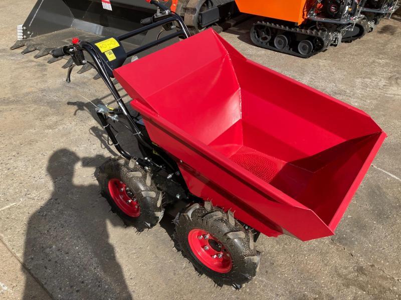 2021 660# Power Wheelbarrow 4x4 Dump Cart, 196cc, 6.5HP,